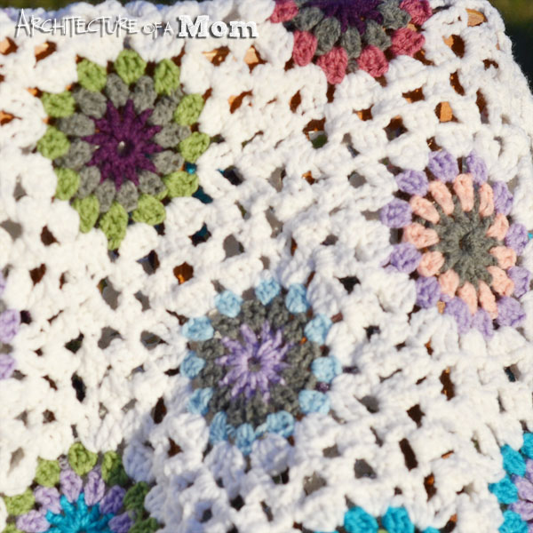 Crochet Blanket Closeup