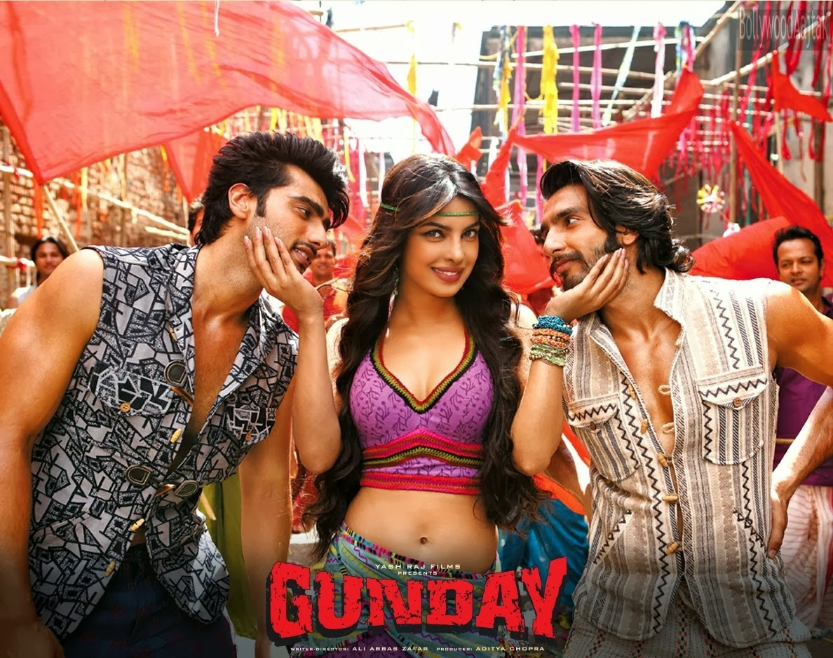 Watch Gunday (2014) Hindi Non Retail DVDRip Full Movie Watch Online For Free Download