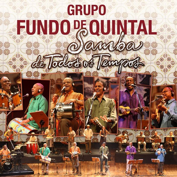 Capa Fundo de Quintal   Samba de Todos os Tempos | músicas
