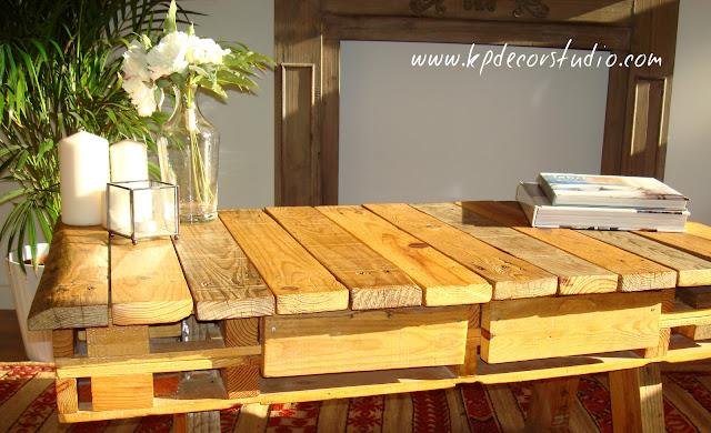comprar mesa de palet para decoracion vintage
