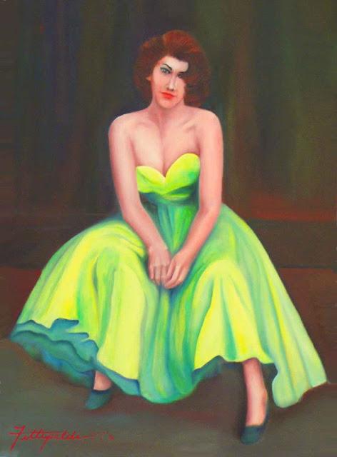 художница Lisa Fittipaldi