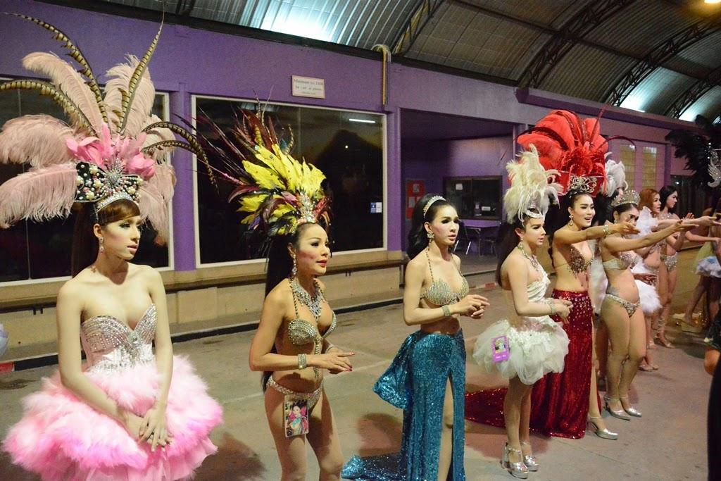 Simon Cabaret Phuket ladyboys