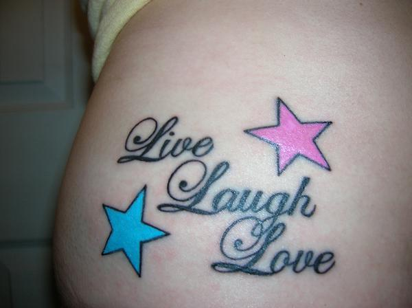 Cute star tattoos all about for Cute side tattoos
