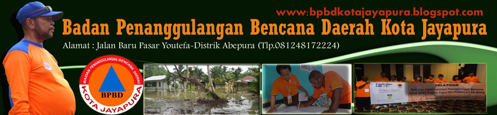 Badan Penanggulangan Bencana Daerah Kota Jayapura