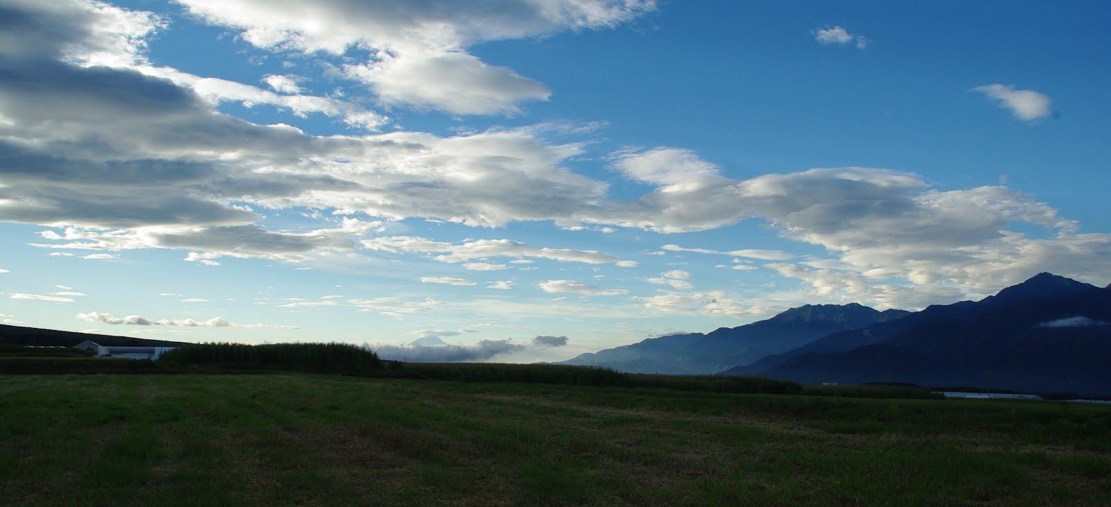 高原の朝8月下旬