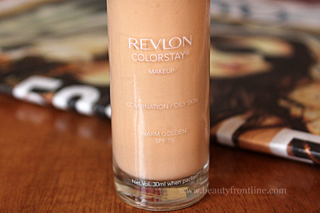 Revlon Colorstay Foundation Natural Tan Review India