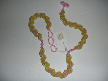 Bile Stain Spiral Necklace