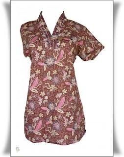 Foto Baju Batik Dinas Wanita
