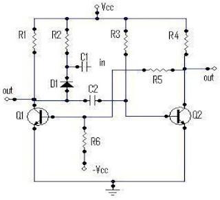Cara Kerja Monostable Multivibrator