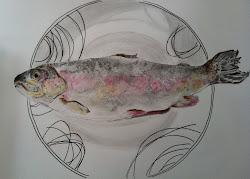 Fish on a dish ....