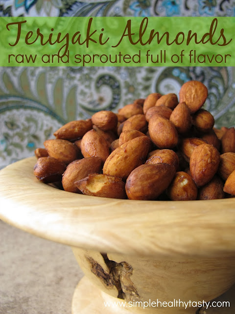 Seasoned Almonds without MSG