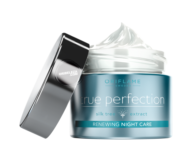 Cuidado de Noite Renewing True Perfection da Oriflame