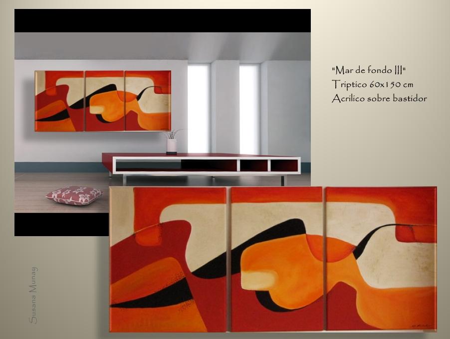 Pin cuadros abstractos modernos florales mercadolibre - Cuadros florales modernos ...