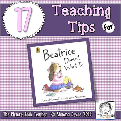 The picture book teacher 39 s edition beatrice doesn 39 t want for Beatrice doesn t want to coloring page
