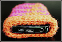 Funda para smartphone o tablet a crochet - Ahuyama Crochet