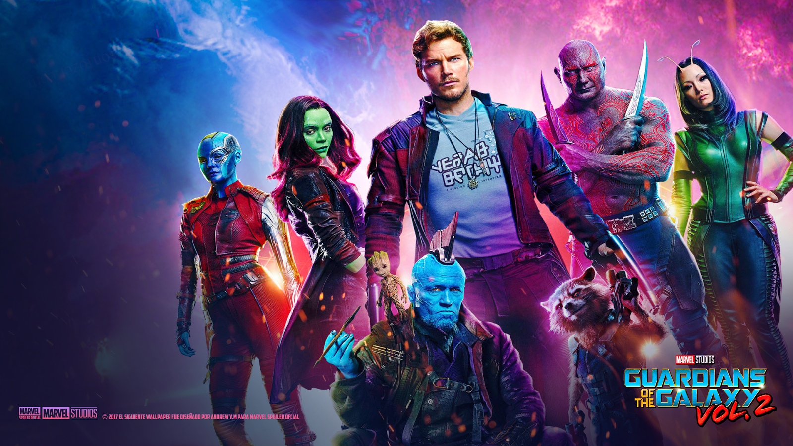 Marvel Spoiler Oficial: Nuevos Wallpapers de Guardians of the Galaxy ... Window