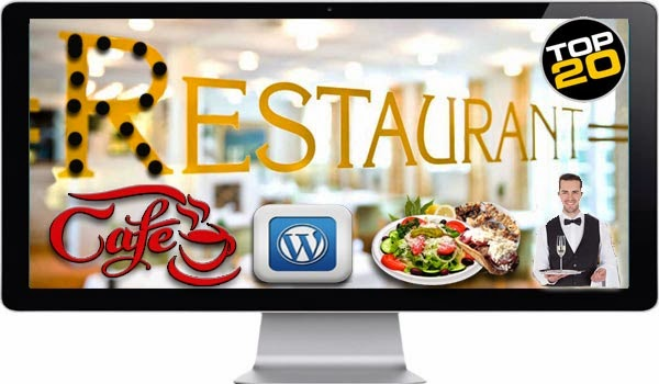 Top 20 Restaurant & Cafe Responsive WordPress Themes Download