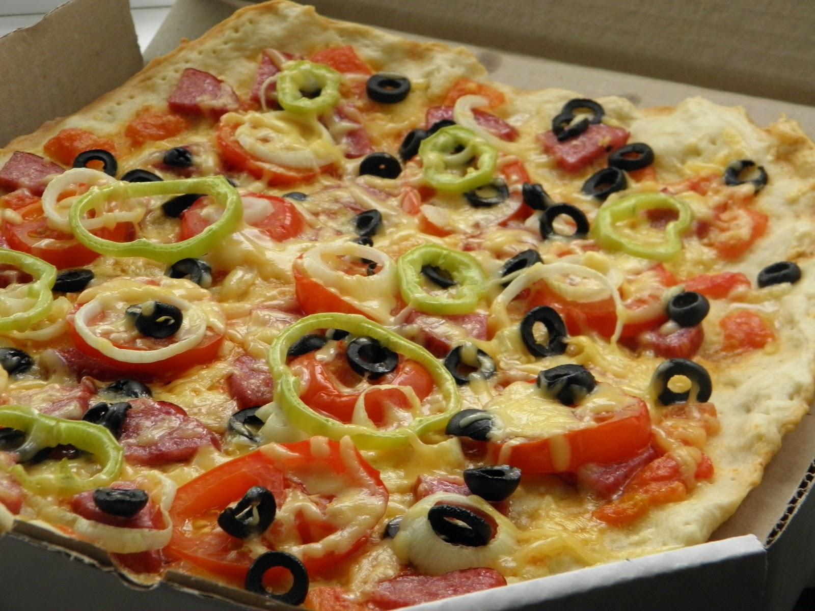 Как сделать пиццу тонкой