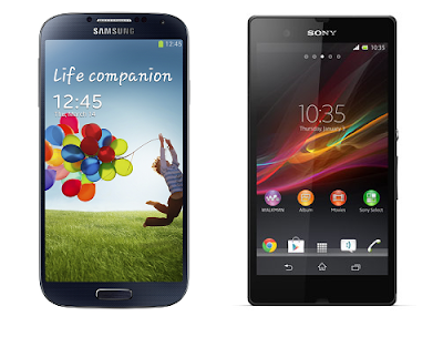 Sony Xperia Z Vs Samsung Galaxy S4: Advantages and Disadvantages