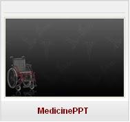 Modèles PPT gratuits Médecine geriatrie Santé Free Medical PPT Templates chaise roulante