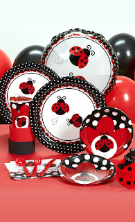 Lady Bug Theme Party Kit