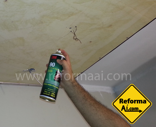 Adesivo 3m spray de alta resistência