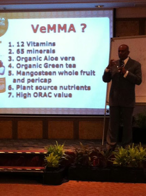 Dr.Abraham, Vemma Malaysia Executive Manager