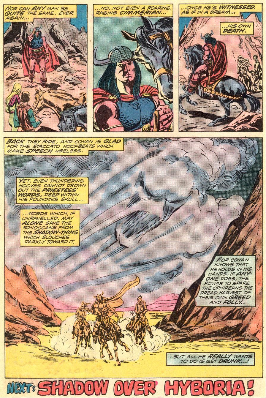 Conan the Barbarian (1970) Issue #54 #66 - English 19