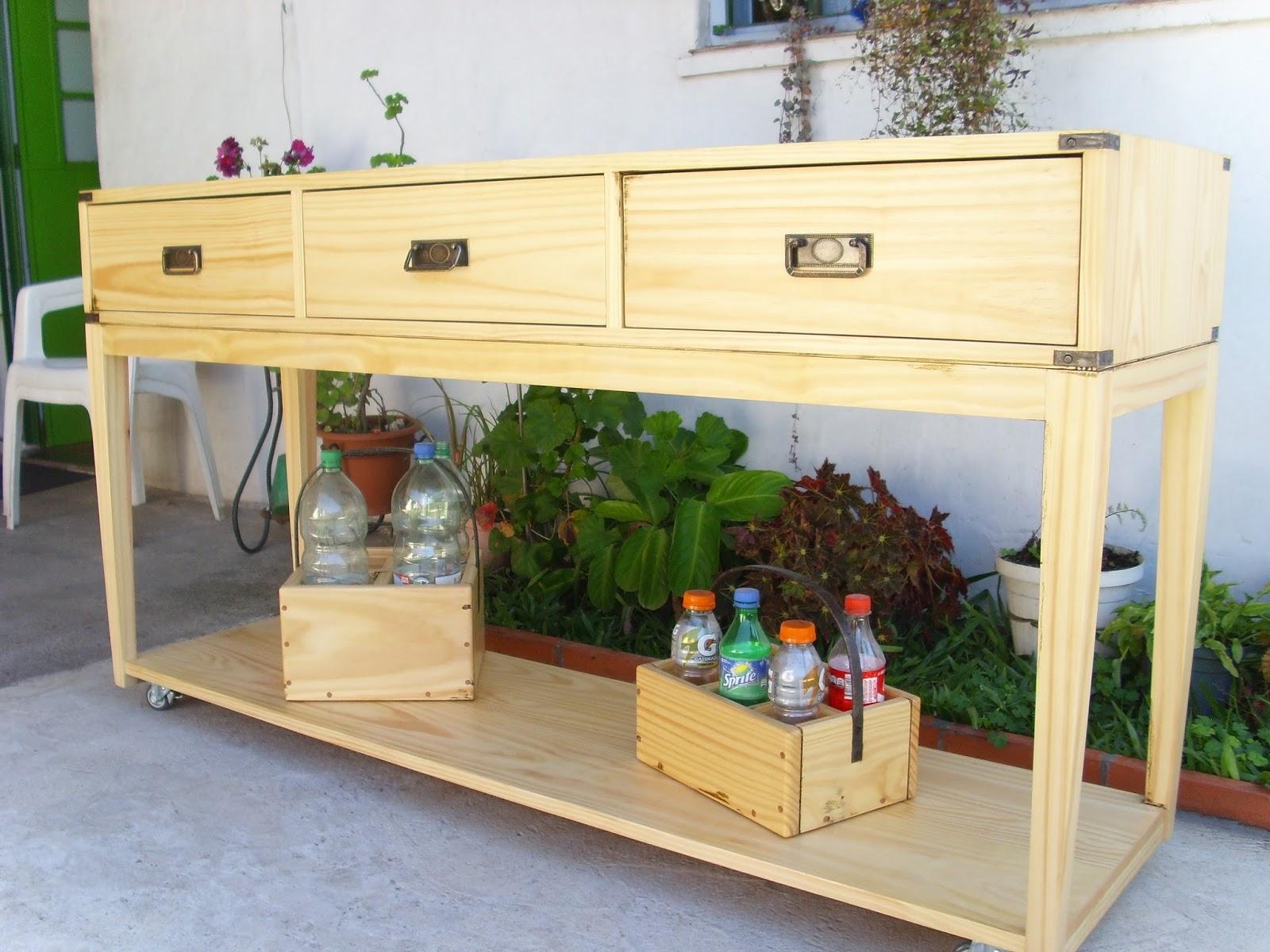 Maderas en la red mueble auxiliar de cocina for Mueble para la cocina