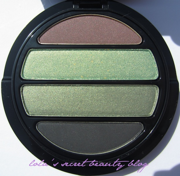 lola's secret beauty blog: Giorgio Armani Beauty Eyes to Kill Quad Shimmer in No. 9 (Medusa): Review & Swatches