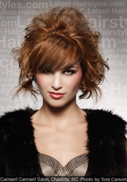 Spring Hairstyles 2012