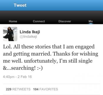 Nigerian blogger Linda Ikeji denies engagement rumours 2