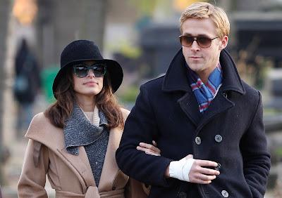 Eva Mendes et Ryan Gosling, les lunettes