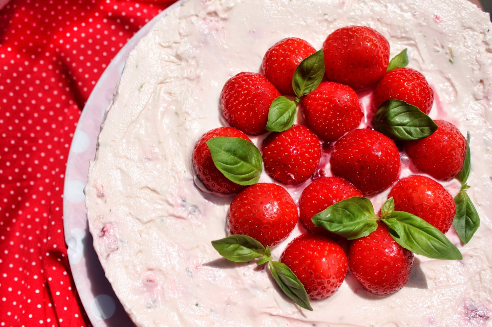 Pudding Pie Lane: Strawberry, Lime And Basil No-Bake ...