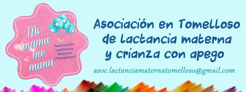Asociación de lactancia materna en Tomelloso