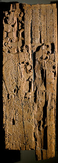 Elaborately carved lintel 3 from Temple I at Tikal. Credit: PSU