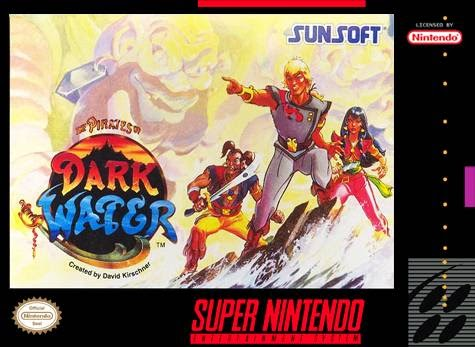 pirates of the dark water snes game