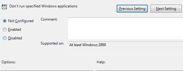 Cara Mudah Memblokir Aplikasi Pada Windows
