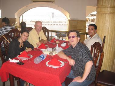 robert margetts in alexandria, Egypt