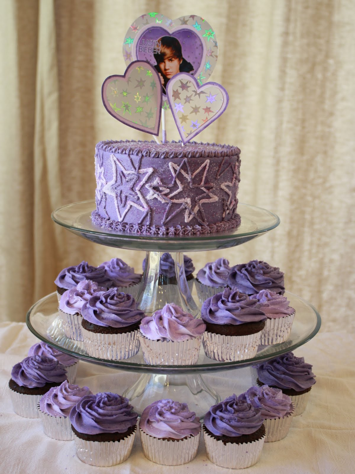Party Cakes Justin Bieber Cake