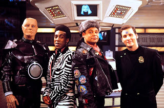 Red Dwarf lead characters