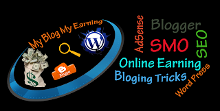 my blog my earning cover