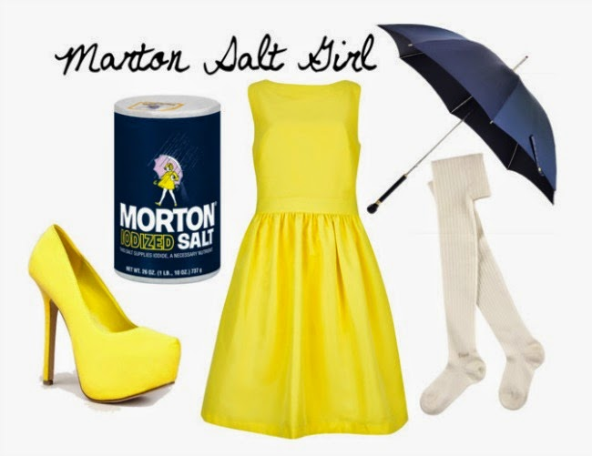Great for a rainy Halloween weekend! And you could empty out the salt container to hold your wallet keys and phone!  sc 1 st  Chels u0026 the City & Chels u0026 the City: Fashion Forward Fridays: Easy DIY Halloween Costumes