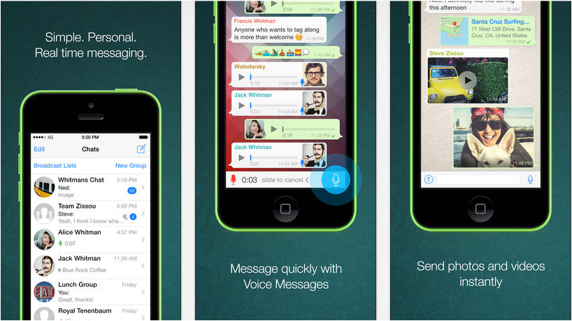 Whatsapp v2.11.7 - Free iPhone Apps Download