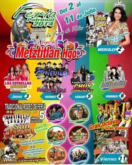 Feria metztitlán 2014