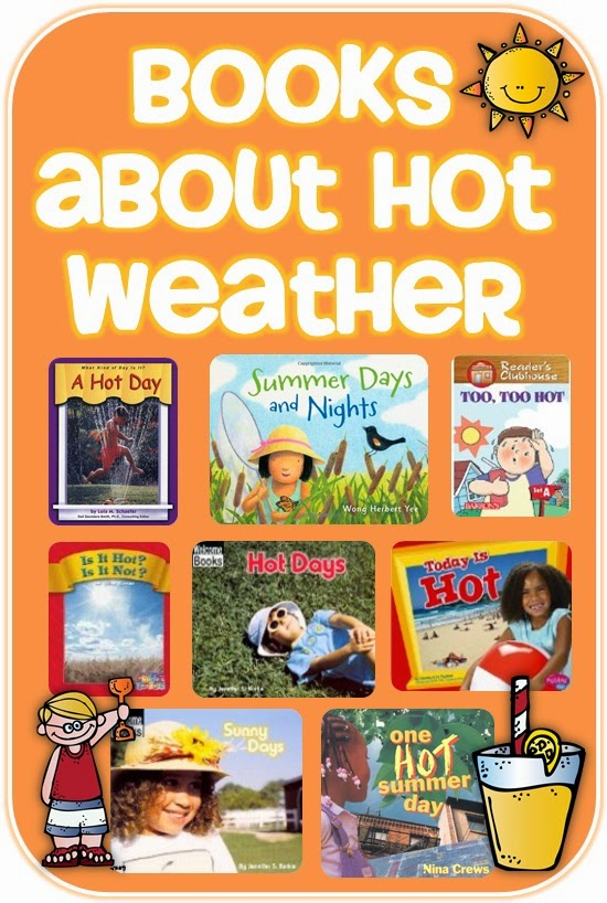 Books about Hot Weather Clever Classroom blog