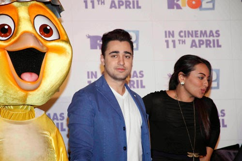 Sonakshi Sinha and Imran Khan at Film RIO 2 Special Footage Screening