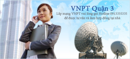 cáp quang VNPT quận 3