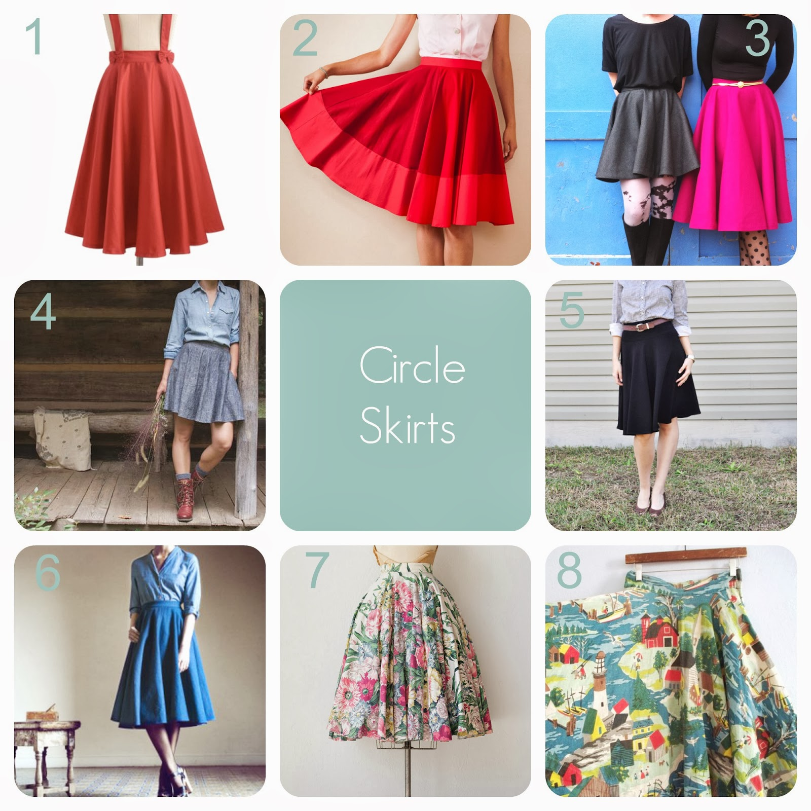 the gallery for gt circle skirt 2014