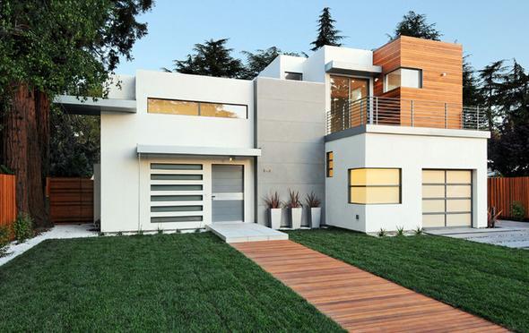 Fachadas de casas fachada de casas hermosas for California contemporary home plans